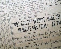 the black sox scandal of 1919 essay With over 55,000 free college essays we have the writing help you need become a better writer in less time.